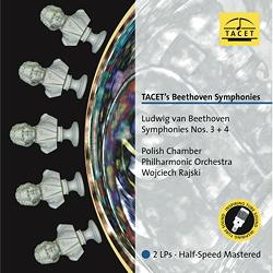Ludwig van Beethoven : Symphonies Nos. 3 and 4