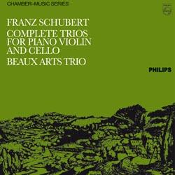 Franz Schubert : Complete Trios For Piano Violin and Cello