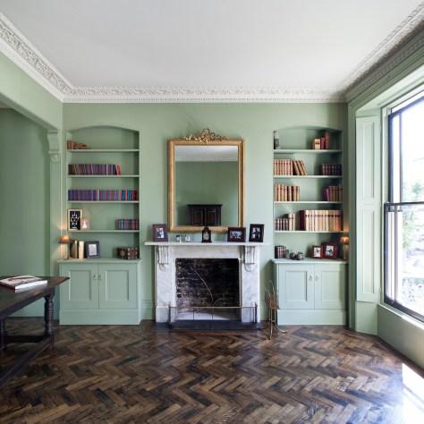 london extension refurb living area