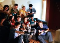 boys playing game