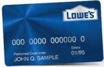 Lowe's Credit Card Login