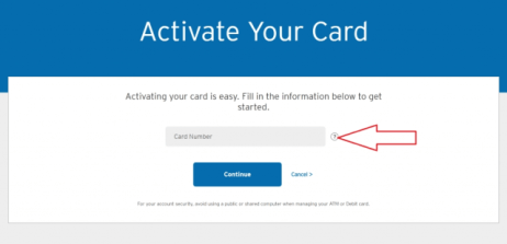 sears card activation online