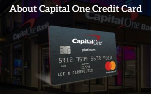 About Capital one credit card