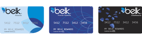 Belks credit card login