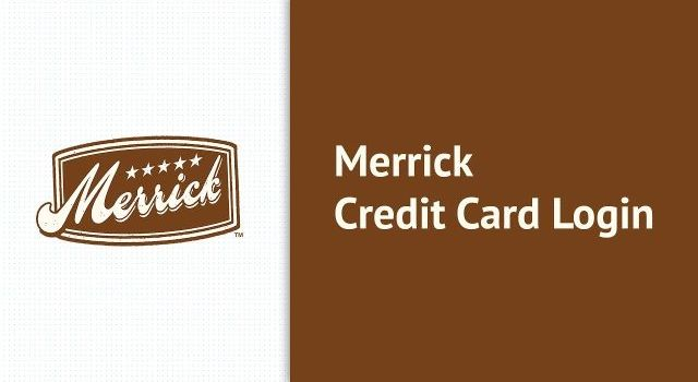 merrick credit card login guide