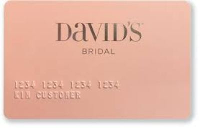 David's Bridal Credit Card information