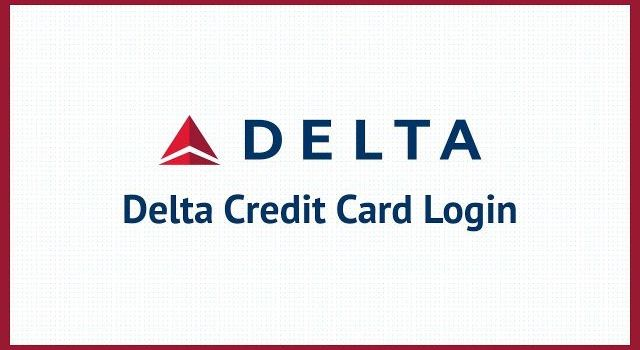 Delta Credit Card Login guide
