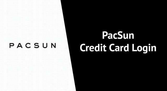 PacSun Credit Card Login