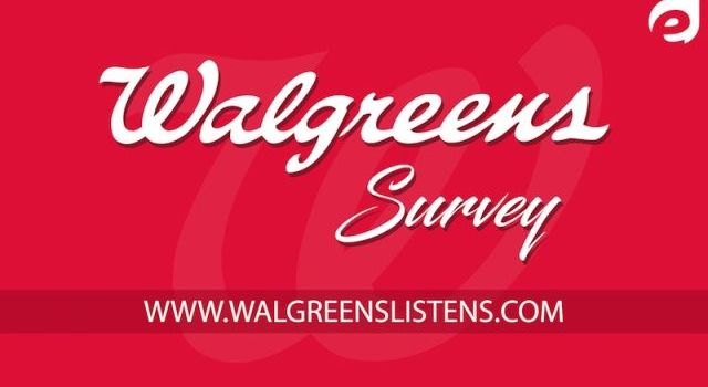 Walgreens listens Survey