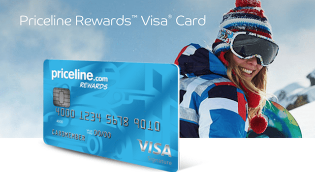 priceline credit card login