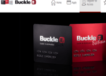 buckle credit card login