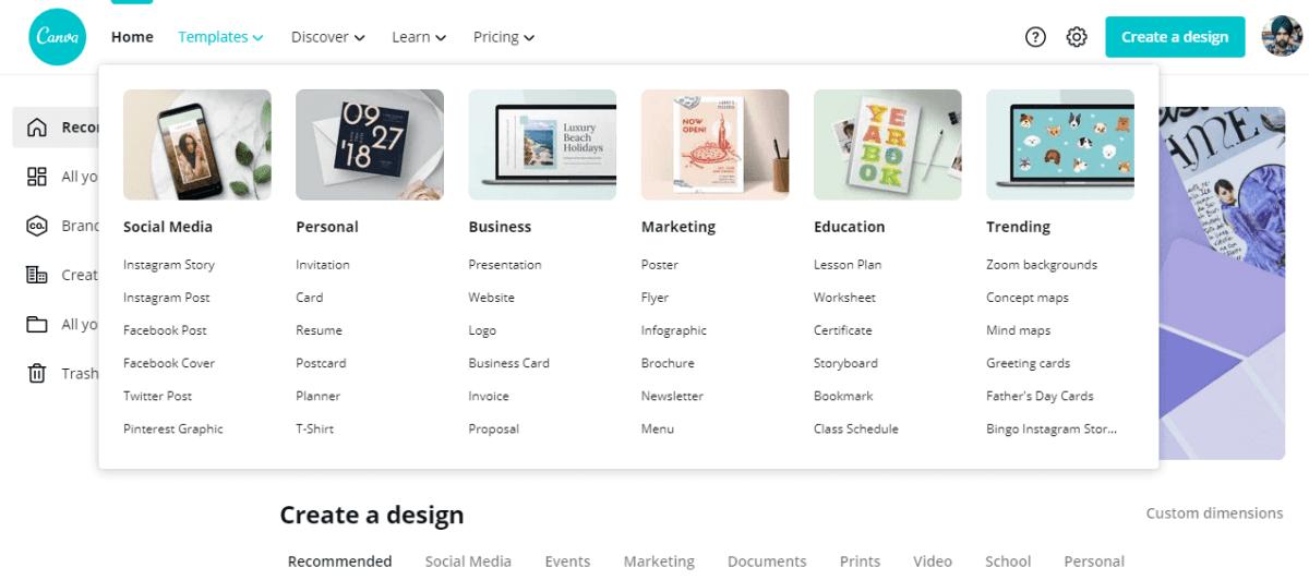 canva best blogging tools