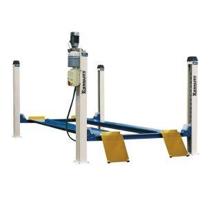 6-Elevadores electrohidráulicos de cuatro postes rebajados