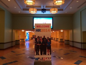 The welcome to HR 2014.