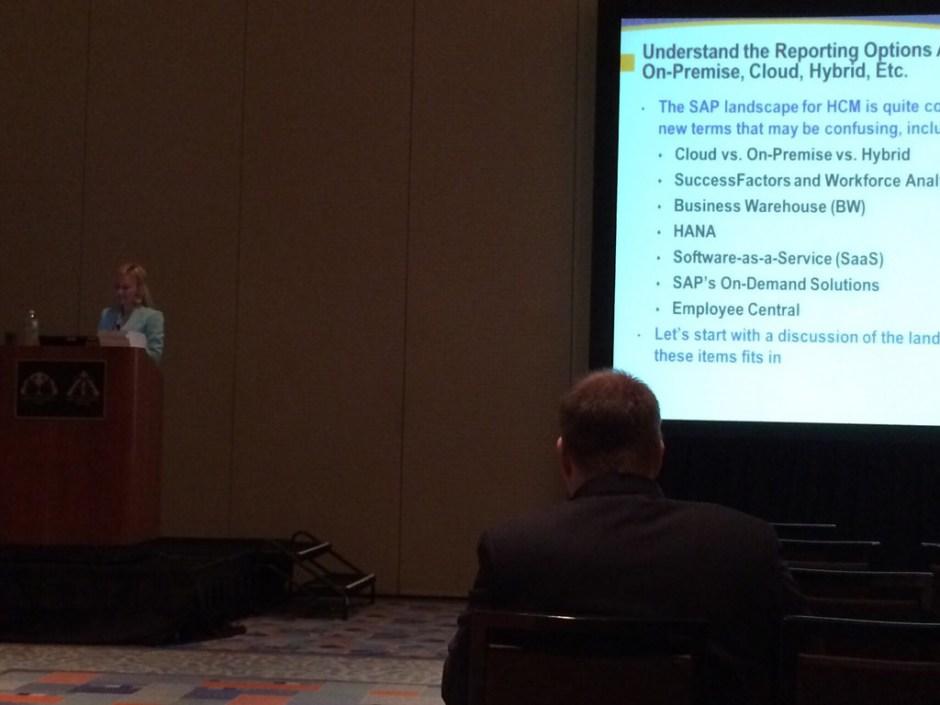 Danielle Larocca speaking.