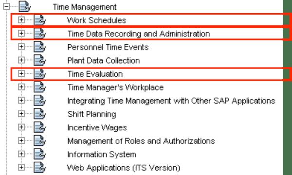 time management configuration