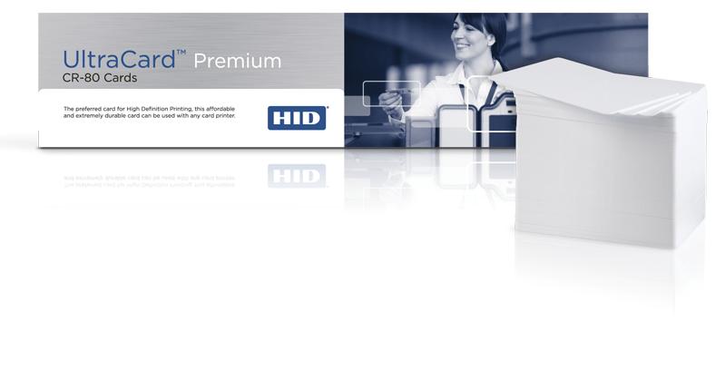 UltraCard Premium CR-80 PVC Cards