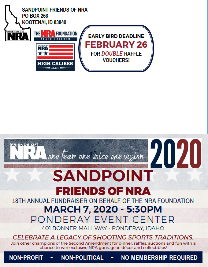 Sandpoint Friends of the NRA 2020