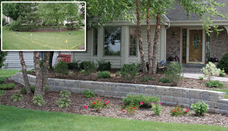 creative design before and after in Shorewood, WI