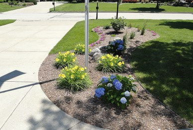 landscapers, french drain tile, Milwaukee landscaping, winter landscaping repair