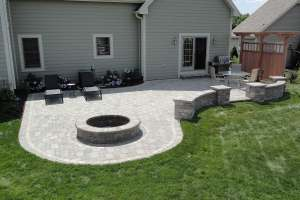 Outdoor Living Area in Pewaukee WI