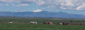Pueblo West CO Pikes Peak View