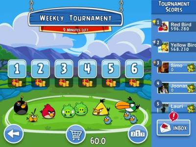 Angry Birds Friends, jogue com seus amigos no Facebook