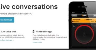 O push-to-talk no seu smarthphone