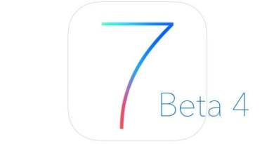 iOS7 beta 4