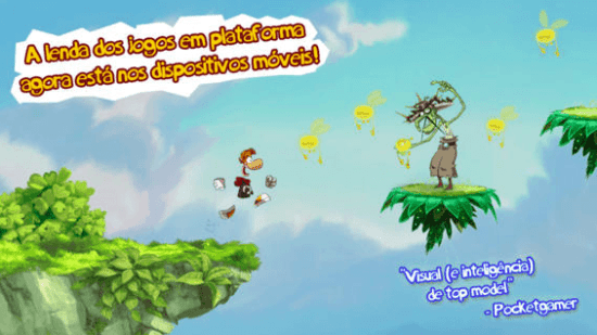 Rayman Jungle Run da Ubisoft