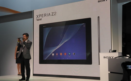 Lançamento do Xperia Z2 tablet fonte: http://www.theinquirer.net/