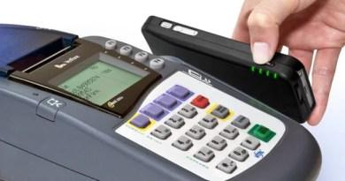 Pagamento usando a tarja magnética do seu cartão de crédito