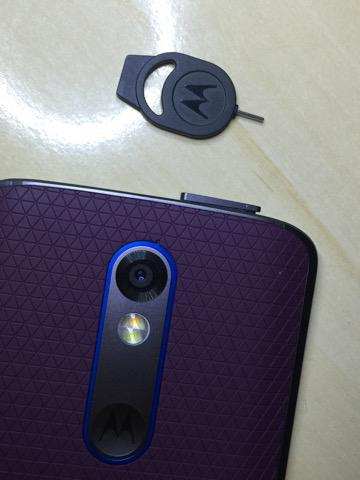 Bandeja de SIM Card do Moto X Force
