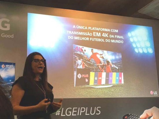 Fernanda Summa, gerente geral de marketing de Home Entertainment da LG