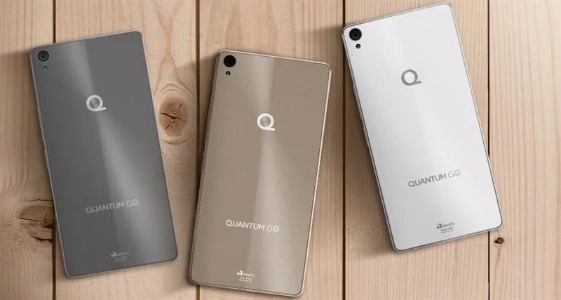 Quantum GO 4G Champagne Gold