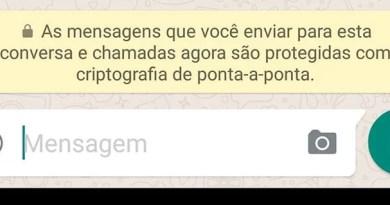 WhatsApp implementou criptografia em suas mensagens
