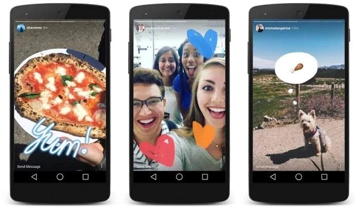 Instagram lança modo história