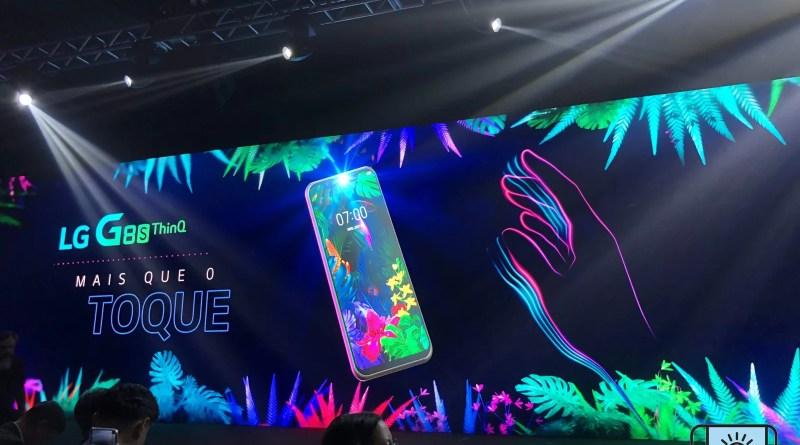 LG G8S THINQ com Hand ID