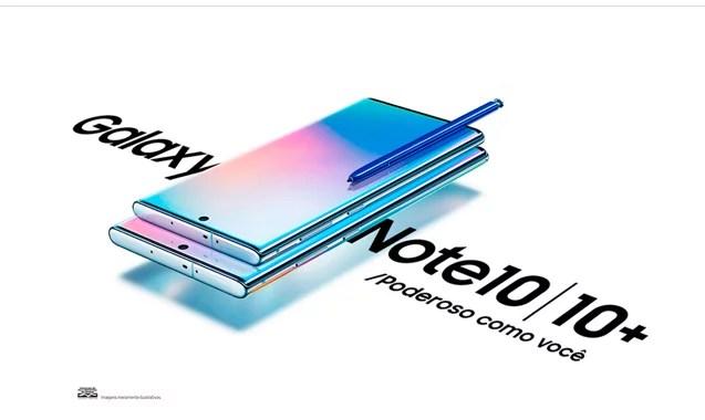 Galaxy Note 10 pré-venda