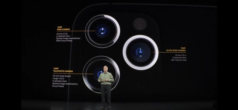 iPhone 11 Pro e suas três câmeras