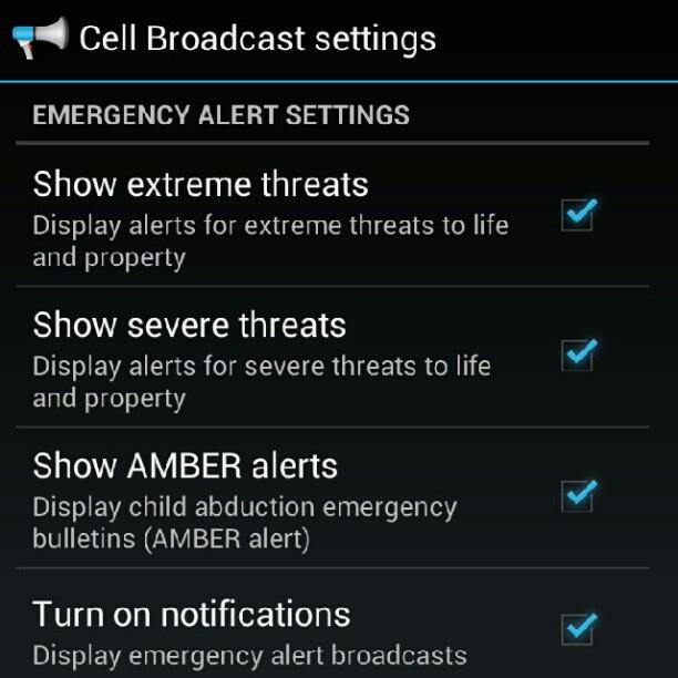 Сообщение службы Android