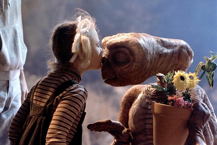 Szene aus »E.T. - Der Außerirdische« von 1982   © Steven Spielberg