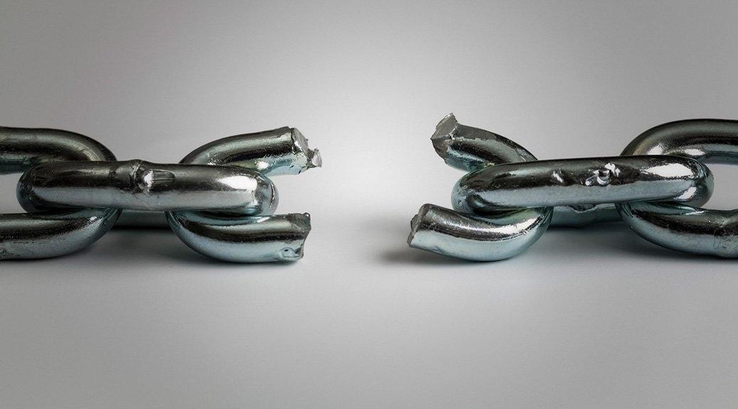 chaîne brisée image