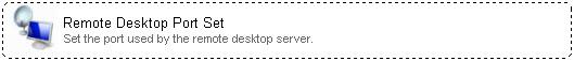 Network Administrator 3 Remote Desktop Port Set