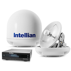 Intellian i3 DLA System with 37cm (14.6 inch) Reflector & Latin Americas LNB