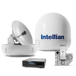 Intellian i6W 2-axis Global System with 60cm (23.6 inch) Reflector & WorldView LNB Gen 2