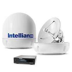 Intellian s6HD Auto Skew System with 60cm (23.6 inch) Reflector & Trio LNB