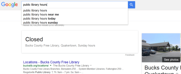 marketing term longtail keyword public library hours