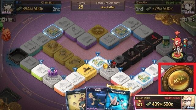 Game of Dice - Slider