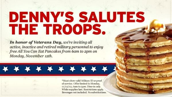 Veteran's Day Pancakes